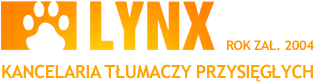 Kancelaria Tłumaczy Przysięgłych LYNX